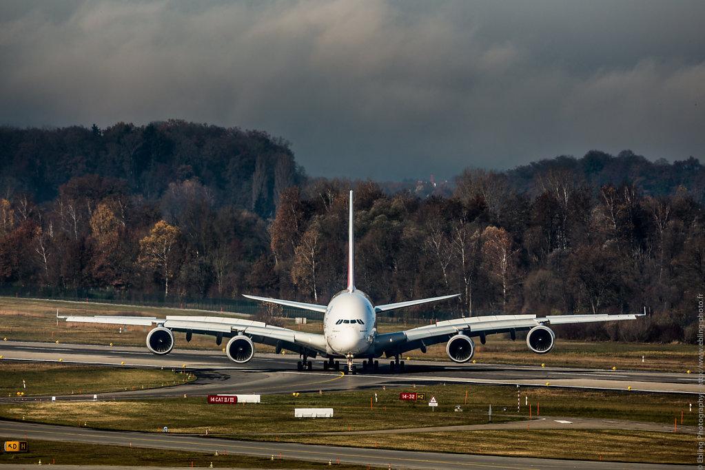 Emirate's A380